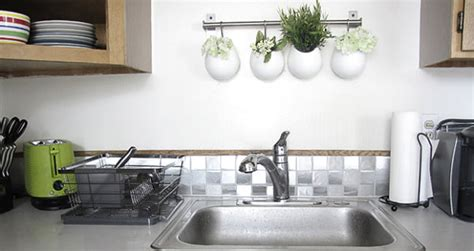 contact paper kitchen backsplash 12 diy projects that make a statement with contact paper 5680