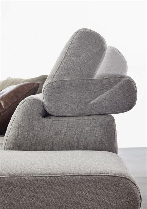 canapé 4 places design dreamline canapé d 39 angle cuir design 4 places assise réglables