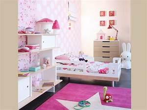 idee deco chambre petite fille 3 ans With idee chambre petite fille