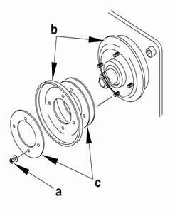 How To  Wacker Neuson Wp1540  U0026 Wp1550 Drive Belt