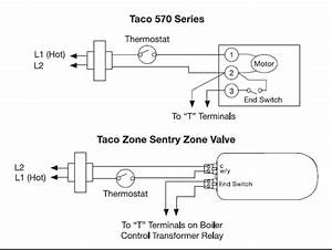 Mixing 3 Wire Taco Zone Valves With A Zone Sentry Valve