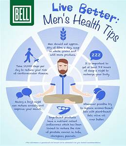 live better s health tips infographic bell