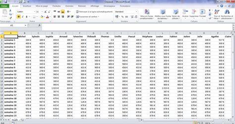 Excel Comment figer une ligne ou une colonne