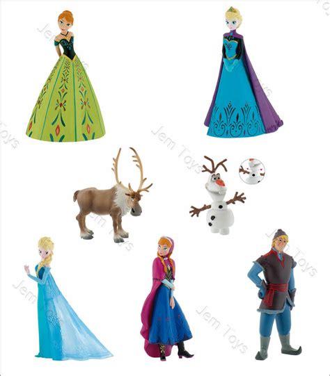 disney frozen figures figurine cake topper coronation elsa