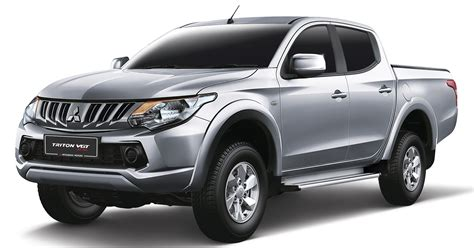 triton mitsubishi mitsubishi triton vgt at gl launched in malaysia new