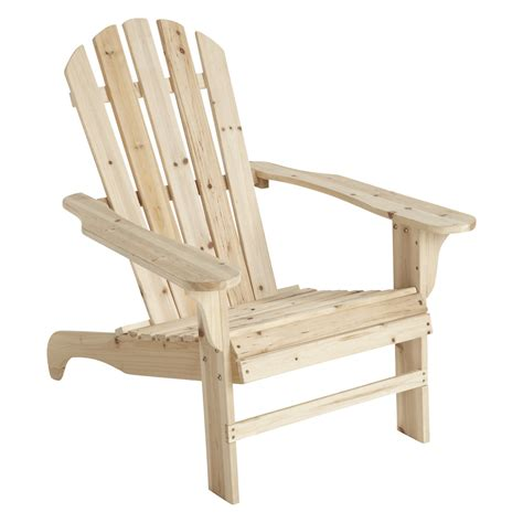 Stonegate Designs Wooden Adirondack Chair — 35 34inl X