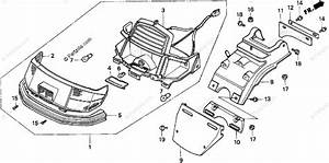 Honda Scooter 1993 Oem Parts Diagram For Rear Turn Signal
