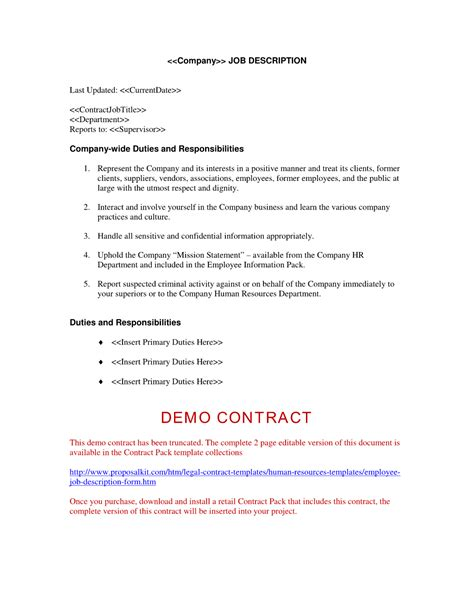 Offer Of Employment Letter Template Free by Employment Offer Letter Free Printable Documents