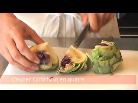 comment cuisiner les artichauts violets cuisiner futé parer un artichaut