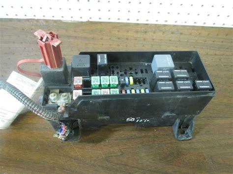 ts  chrysler pt cruiser fuse box power distribution