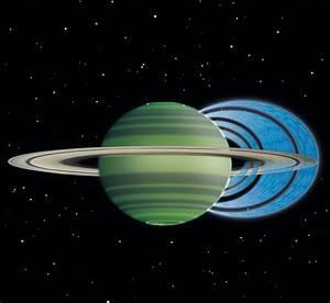 Los anillos de Saturno provocan lluvias sobre la atmósfera ...