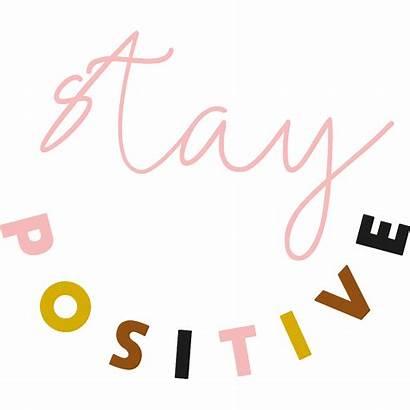Positivity Gardner Caroline Positive Sticker Happy Thinking