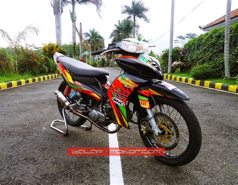 Jupiter Z Road Race Terbaru by Modifikasi Motor Yamaha 2016 Modif Yamaha F1zr Racing