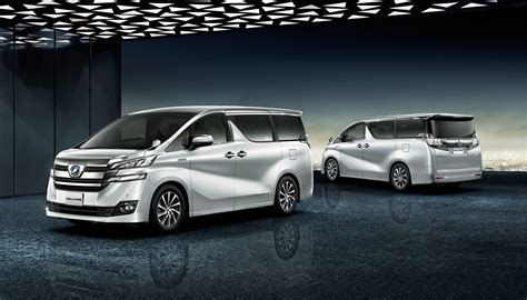 toyota jp toyota unveils new alphard and vellfire minivans in japan