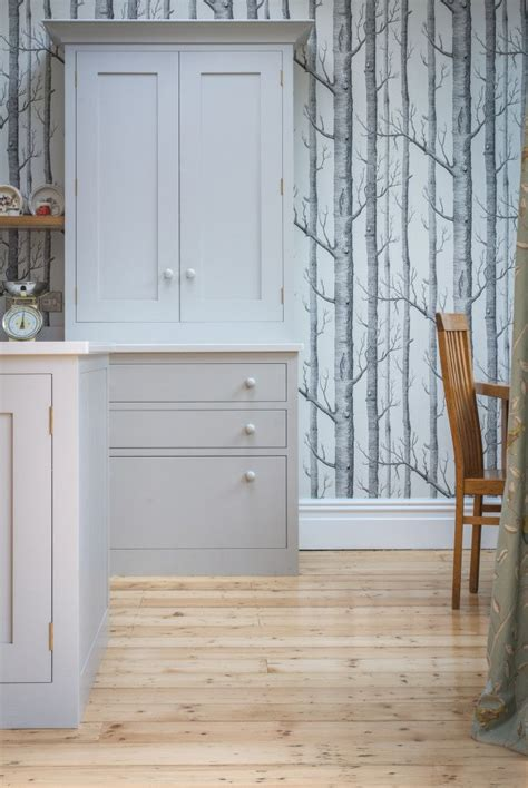Scandinavian Woodland Inspired Kitchen by 1000 Ideas About Wallpaper Cabinets On Bead