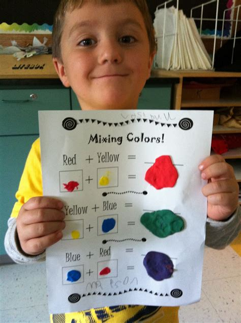 the smartteacher resource mixing colors