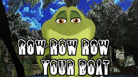 Boat Song For Baby by Row Row Boat Song Songs Frozen Songs Nursery