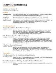 Resume Tracking Template by Free Ats Applicant Tracking System Optimized Resume Templates Http Www Hloom