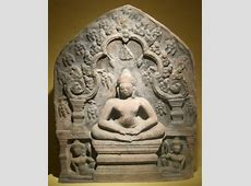 FileStele with seated Buddha from Cambodia or northeast