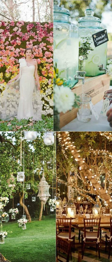shabby chic outdoor wedding decorations 10 shabby chic garden wedding decoration ideas page 2 of 2 1001 gardens