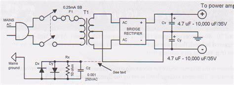 tda  watt audio amplifier circuit