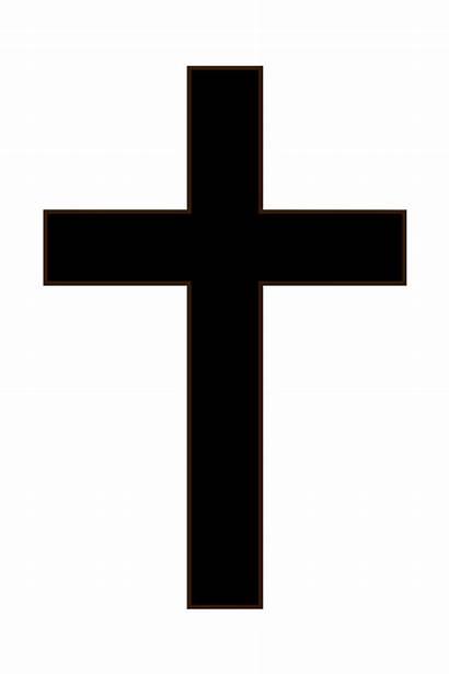Cross Simple Clipart Clip Vector Crucifix Crosses