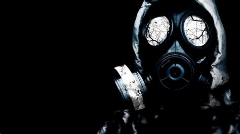 epic anime gas mask anime boy with gas mask chainimage