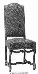 Chaise Louis Xiii : chaise louis xiii garnie grand dossier et pi tement en ~ Melissatoandfro.com Idées de Décoration