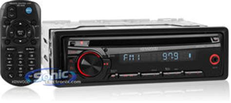 open box complete kenwood kdc 152 in dash car cd mp3 stereo w aux input open box