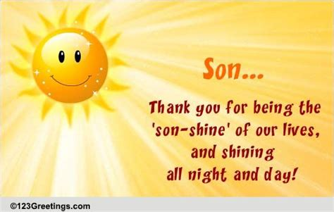 son shine  son daughter ecards greeting cards