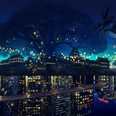 Most Popular Anime Wallpaper - 10 most popular anime city wallpaper hd 1920