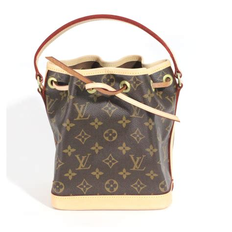 louis vuitton mini noe bb handbags leathercloth  ref joli closet
