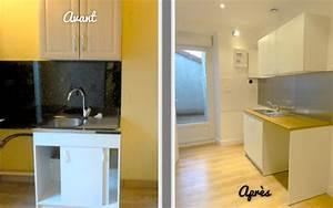 revgercom peinture renovation meuble melamine idee With peinture renovation meuble cuisine