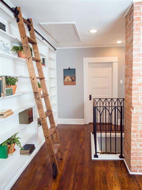 library ladder ideas  pinterest library