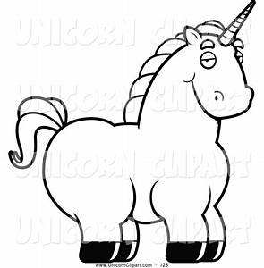 Unicorn Clipart Black And White | Clipart Panda - Free ...