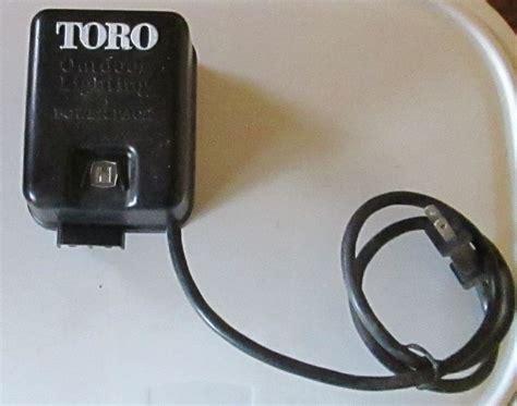 toro outdoor lighting power pack model 52938 72 dd