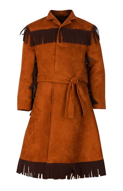 boy s frock coat fringed coat colonial coat