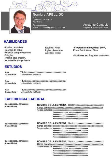 Modelo De Curriculum Vitae Para Descargar  Modelo De. Retail Supervisor Cover Letter Uk. Hays Cover Letter Tips. Cover Letter For Retail Job Without Experience. Cover Letter Senior Administrative Assistant. Curriculum Vitae On English. Curriculum Vitae Pdf Unam. Resume Example Undergrad. How To Write Cover Letter Doctor