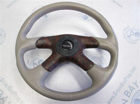 Boat Steering Wheel by 2001 Bluewater 14 In Boat Steering Wheel
