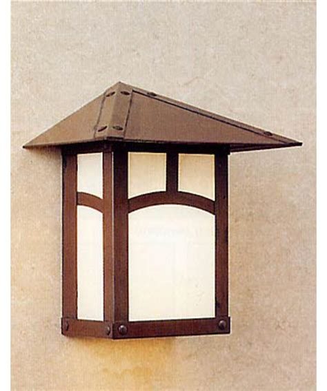 arroyo craftsman ew 9 evergreen 1 light outdoor wall light