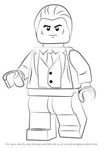learn   draw lego bruce wayne lego step  step
