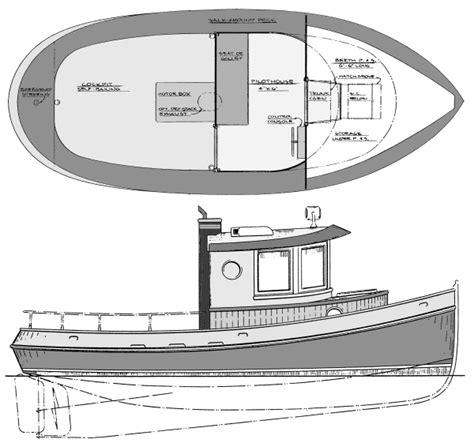 Mini Boat Drawing by Mini Tugboat Plans Studio Design Gallery Best Design