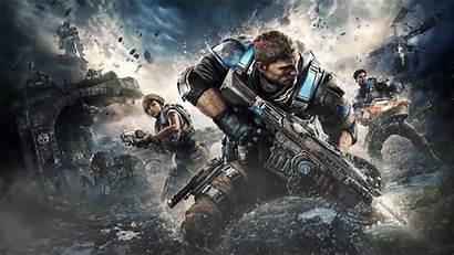 Gears War Pc Xbox Fondos Pantalla Background