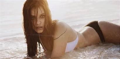 Palvin Barbara Secret Gifs Swim Victoria Victorias