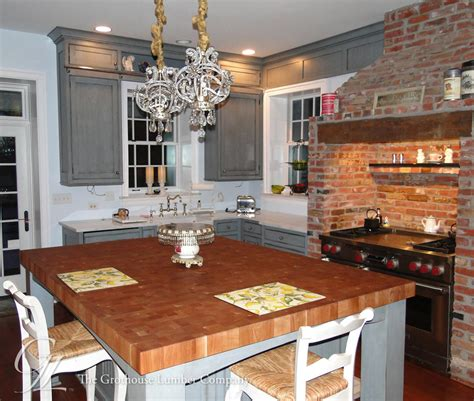 kitchen island countertop cherry butcher block countertops in moorestown jersey