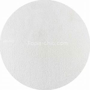 Tapis Blanc Rond : tapis sur mesure rond blanc par vorwerk gamme safira ~ Dallasstarsshop.com Idées de Décoration