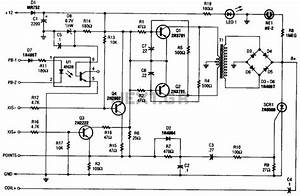 Cd Ignition System For Autos Circuit   Car Bike Circuits