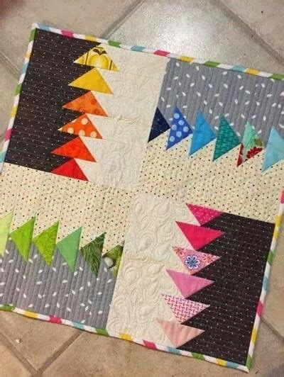 Piumoni Moderni by Modern Cuscini Pillow Quilts Mini Quilts E Flying