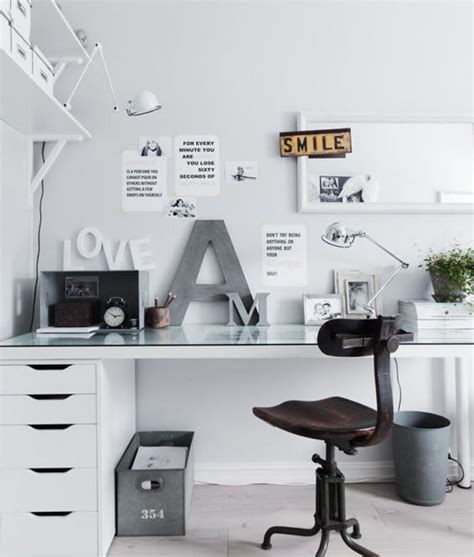 bureau blanc et gris choisissez un meuble bureau design pour votre office à la