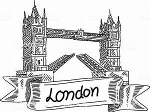 London Bridge Dessin : london tower bridge drawing stock vector art more images of ancient 504693664 istock ~ Dode.kayakingforconservation.com Idées de Décoration